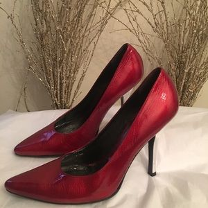 Jessica Simpson Red Leather Heels✨✨